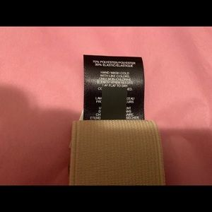 Express Accessories - NWOT Express Cream & Gold Belt